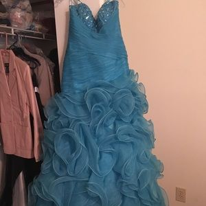 Mermaid Prom or Pageant Dress